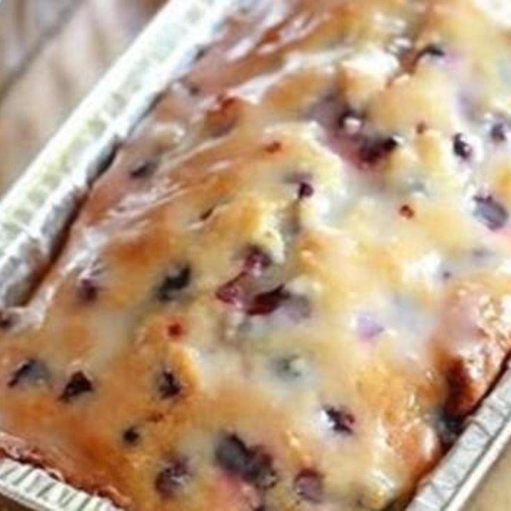 Lemon blueberry quickbread recipe