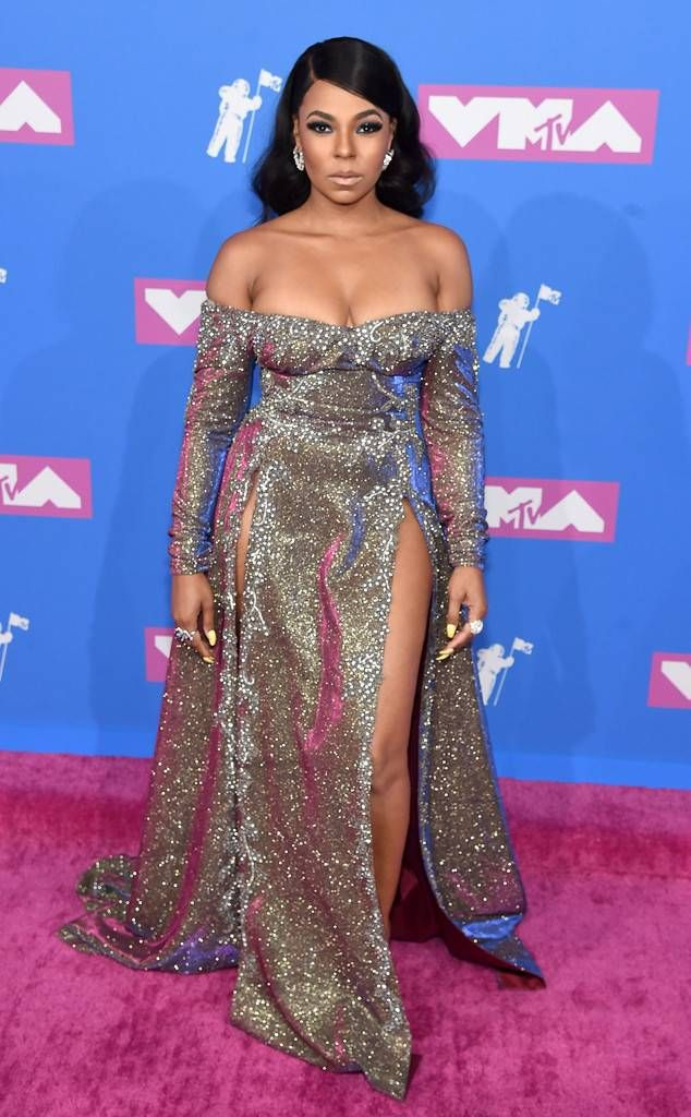 Ashanti from MTV Video Music Awards 2018: Red Carpet ...