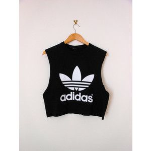 Fitness | Classic Adidas Crop Top