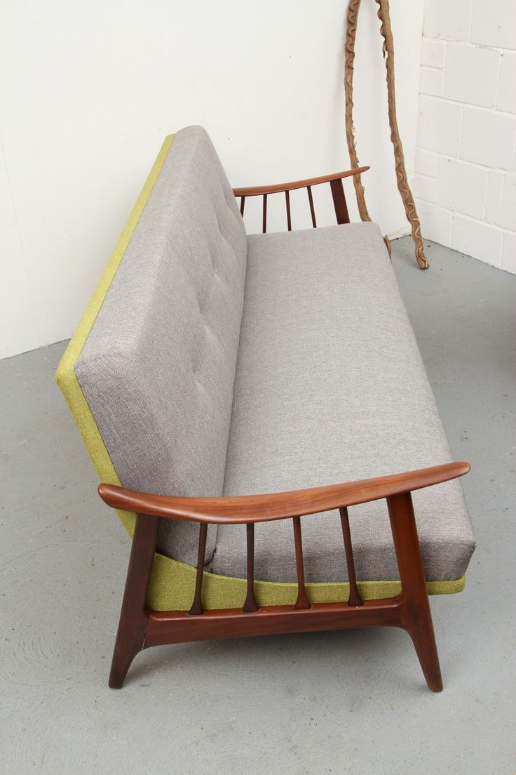 Vintage Scandinavian Daybed Sofa, 1950s 10