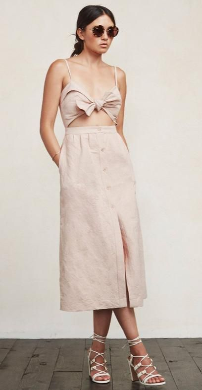 11 Insanely Stylish Spring Pieces That are Eco-Friendly - Riley Dress, $198; at Reformation
