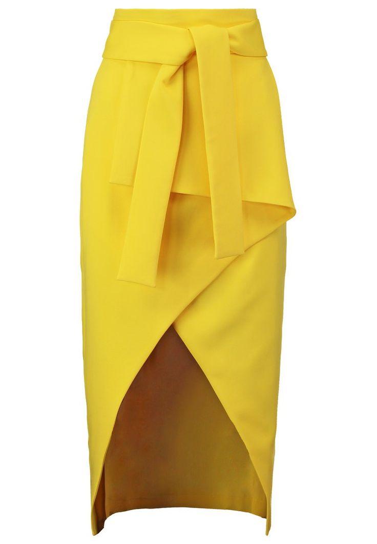 Lavish Alice Spódnica ołówkowa canary yellow