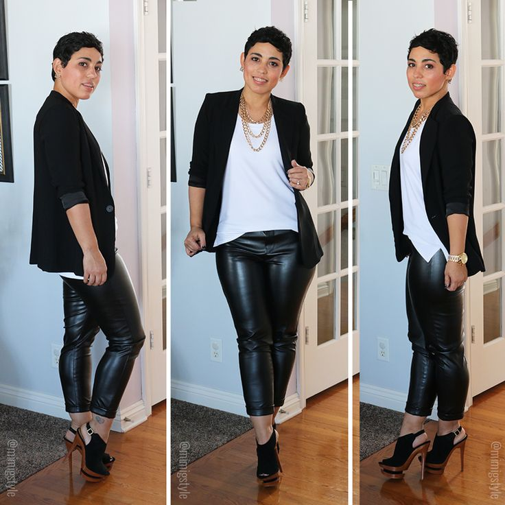 New! Mimi G For Simplicity Leather Look - Mimi G Style