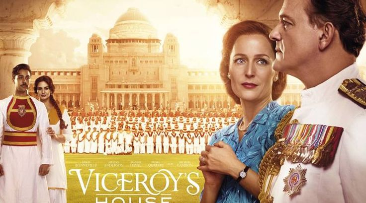 Viceroy's House (September 1, 2017) a drama period film directed by Gurinder Chadha.  The final Viceroy of India, Lord Mountbatten, is tasked with overseeing the transition of British India to independence, but meets with conflict as different sides clash in the face of monumental change. Written by Paul Mayeda Berges. Stars: Gillian Anderson, Michael Gambon, Simon Callow.