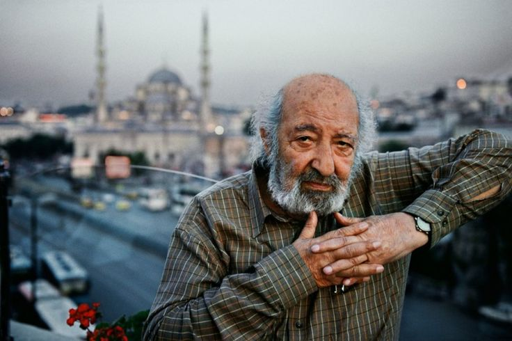 "Turkish photographer Ara Guler (""The Eye of Istanbul""), in Istanbul, Turkey, June 2010. #stevemccurry"