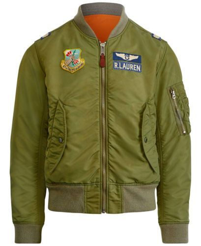 Polo-Ralph-Lauren-Men-MA-1-Military-Army-US-Air-Force-Flight-Bomber-Pilot-Jacket