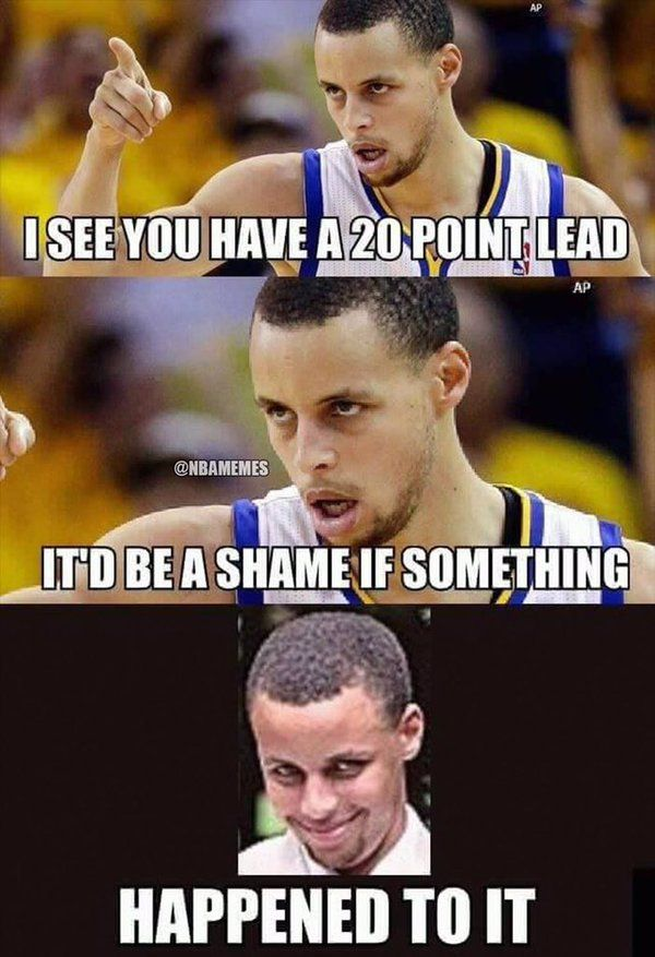 LOL Steph Curry