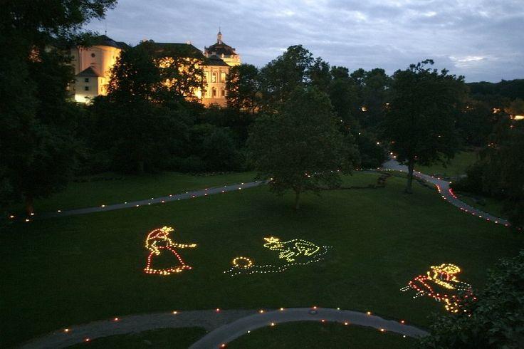 Musikfeuerwerk - Blühendes Barock Ludwigsburg – Gartenschau, Märchengarten