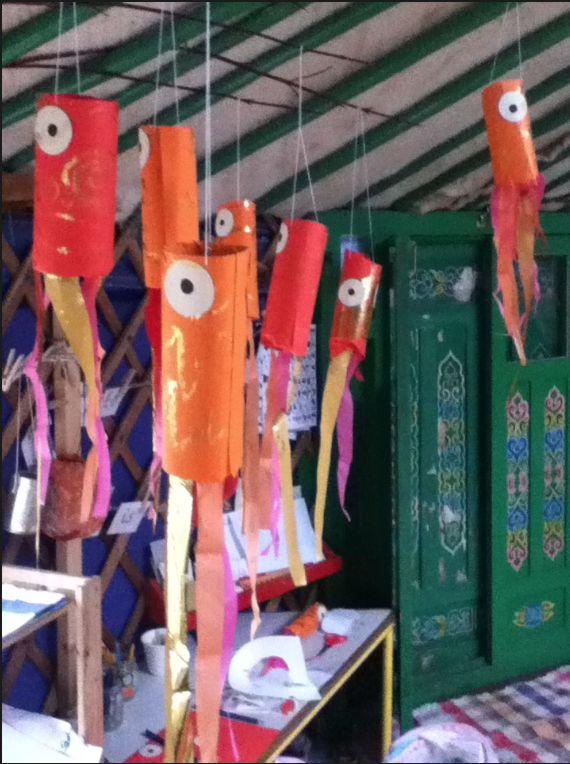 chinese carp kites... Fish theme lake projects