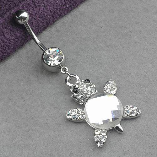 Turtle Belly Button Ring...SO COOL!!!