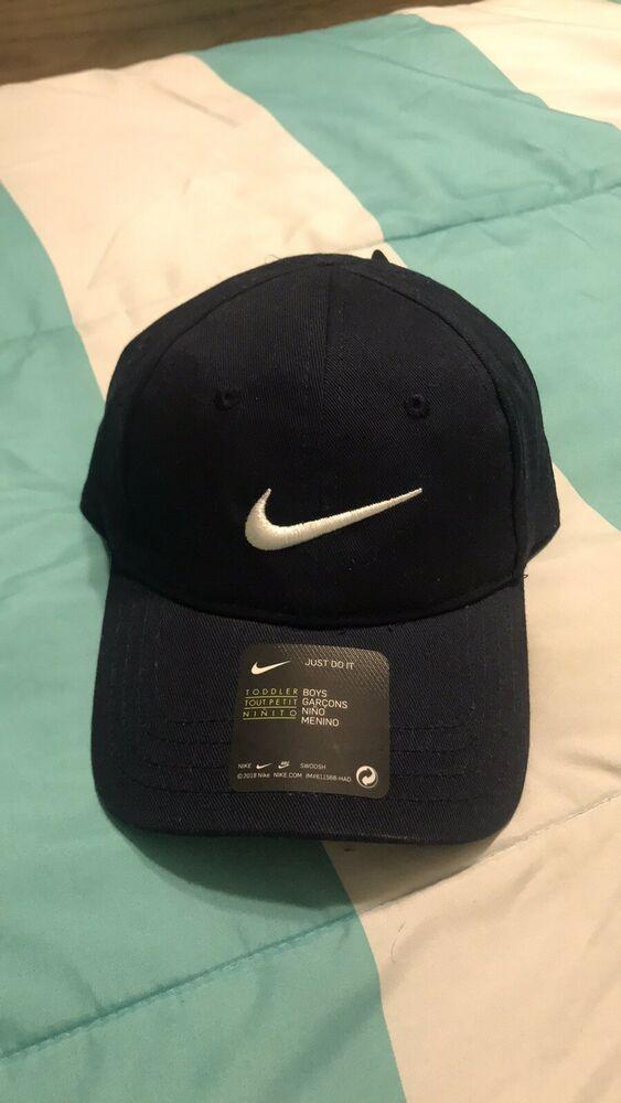 cfc059f6 NEW Boys Nike Cap Adjustable Hat Navy Toddler 2/4T #fashion #clothing #