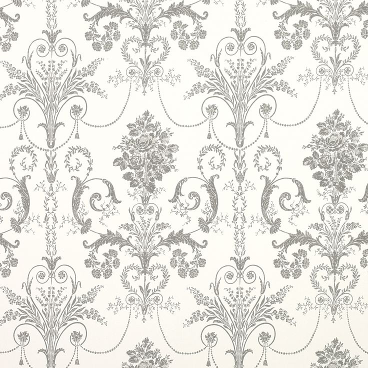 Laura Ashley Josette Charcoal Wallpaper-bedroom