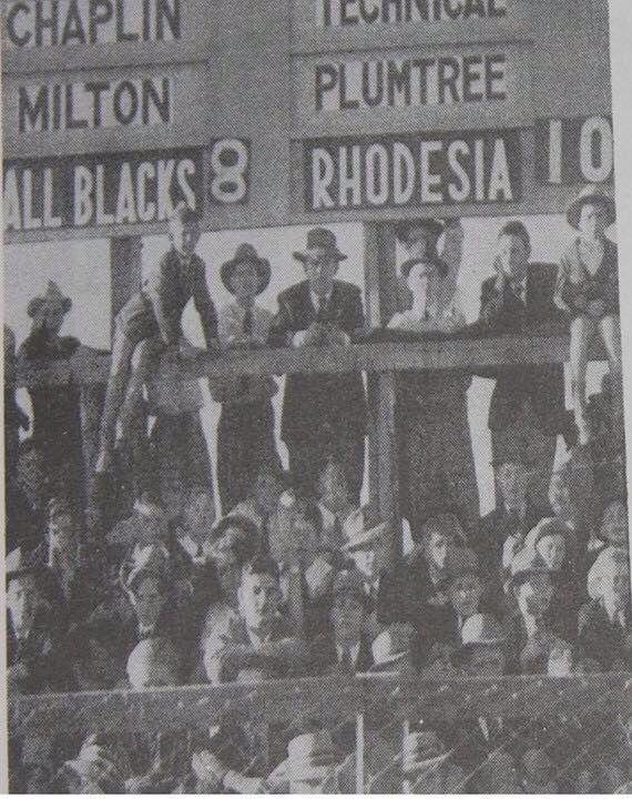 Yes, it's true! In 1949 Rhodesia beat the All Blacks!