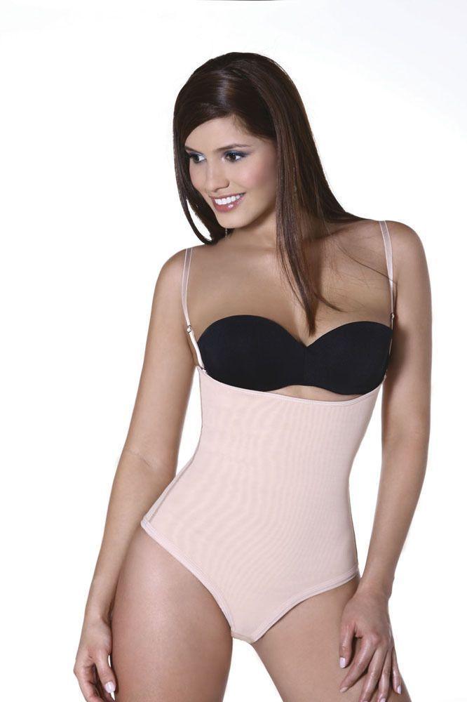 Fajas Colombianas Vedette Ref 127 Bianca Body Suit. Women Body Shaper