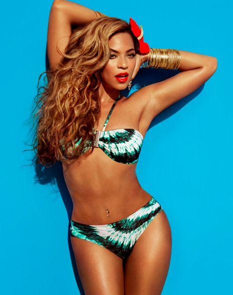 Beyoncé como a Srª. Carter para H,