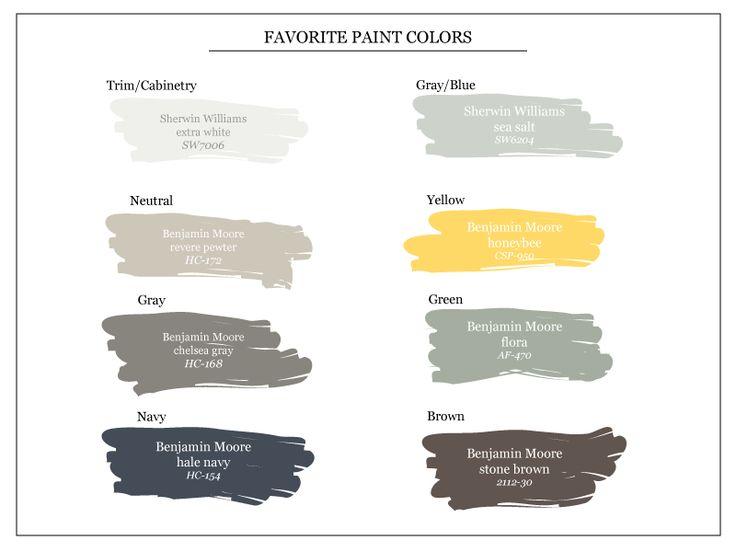 1000 Images About Paint Color Palettes On Pinterest