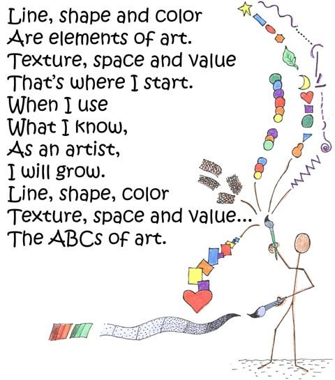 Elements of Art Poem- great idea!