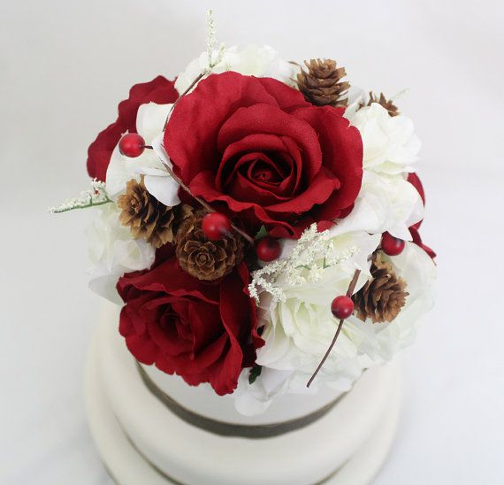 Silk Flower Wedding Cake Toppers: Cake Toppers, Wedding Cake Toppers And Silk Flowers On