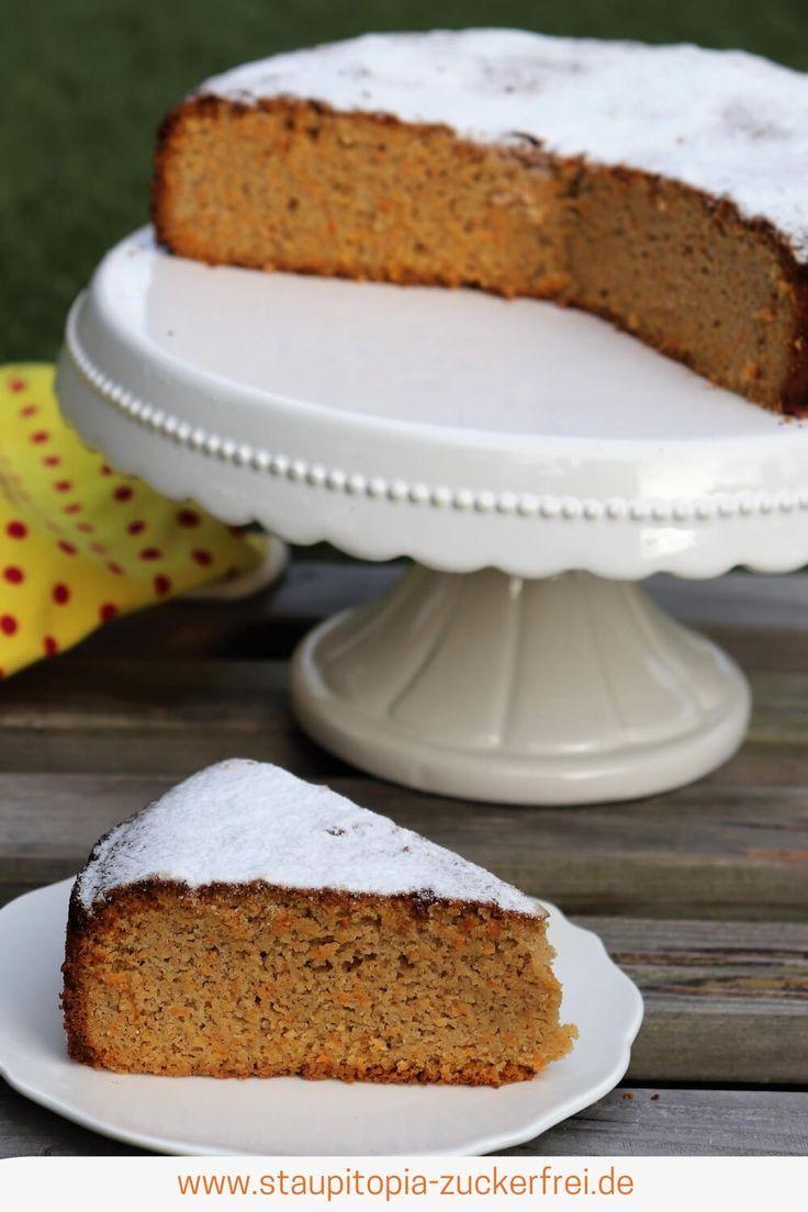 Gesunder Karottenkuchen Ohne Mehl Und Zucker Rezept Zuckerfreie Brownies Nachtisch Rezepte Karottenkuchen