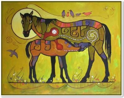 Василий Мушик   Картины в стиле Вудленд - это образы, помогающие сосредоточиться на духовных силах. Цикл работ художника повествует о вечной гармонии живой природы, объединяющих началах, дающих жизнь всему живому.