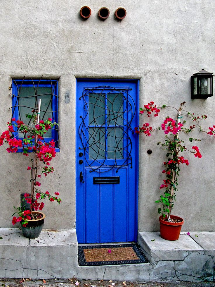 my home will have a blue front door