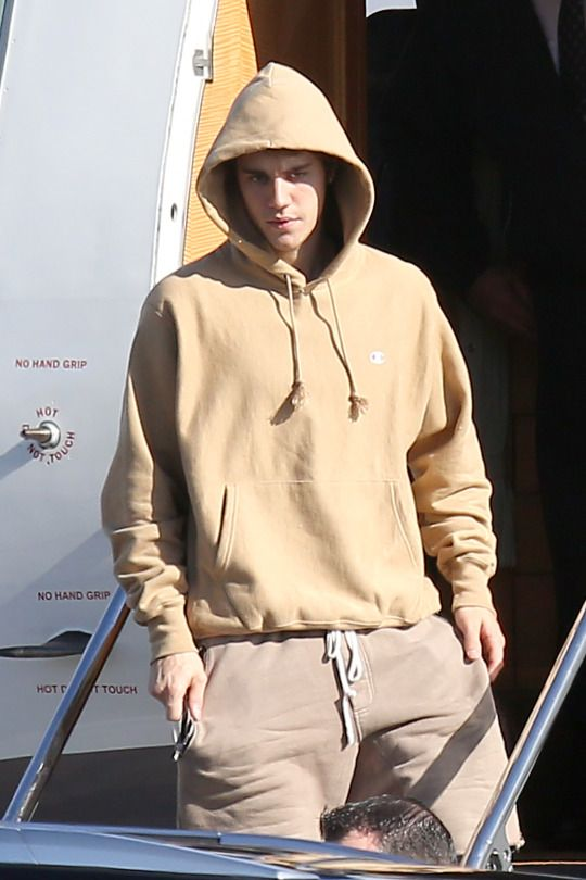 December 16: [More] Justin seen at an airport in Van Nuys, CA.