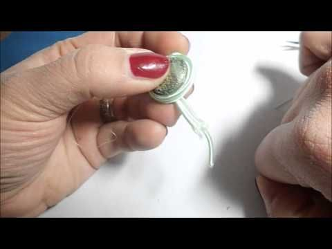 tutorial soutache...due metodi di incastonatura