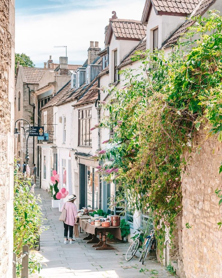 Frome town centre, England
