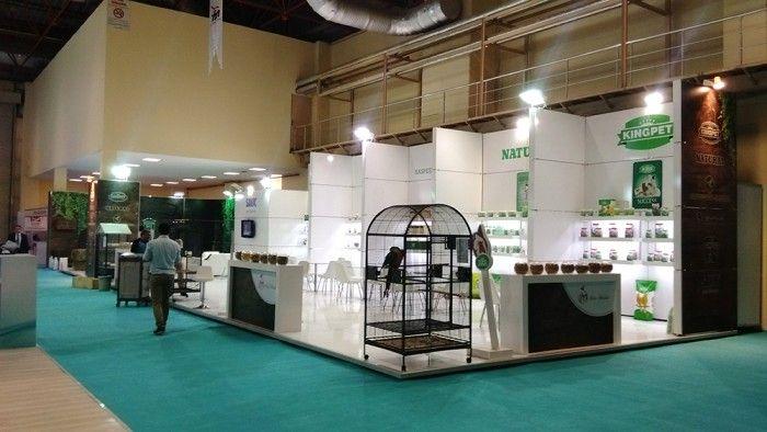 Mete İthalat / Natural Türkiye- PET İSTANBUL2015 Exhibition stand.