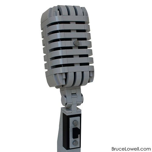 LEGO Shure 55SH Microphone | The Shure 55 is probably the mo… | Flickr