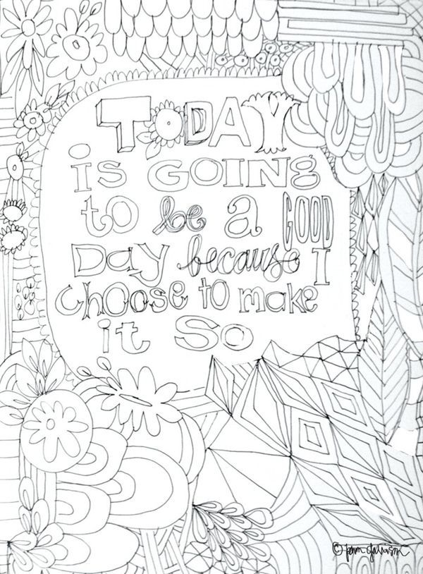 Printable Pam Garrison Doodles Pinterest Coloring Good Day And Coloring Pages