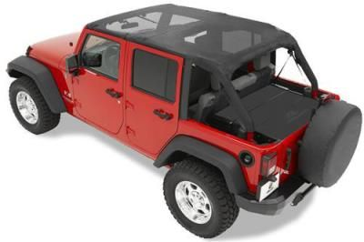 Bestop Safari Jeep Bikini Top Pre-Installed Windshield Channel Black: Safari… #JeepAccessories #JeepParts #Wrangler #Cherokee #Liberty
