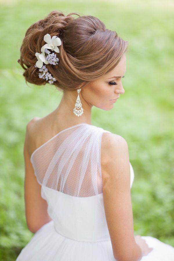 Свадебные прически на дому и макияж от профессионалов в