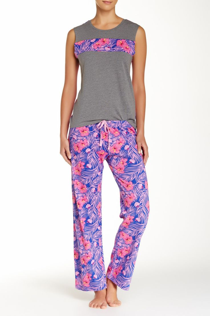 Floral Fever Pajama Set by Hello Kitty & Paul Frank on @HauteLook