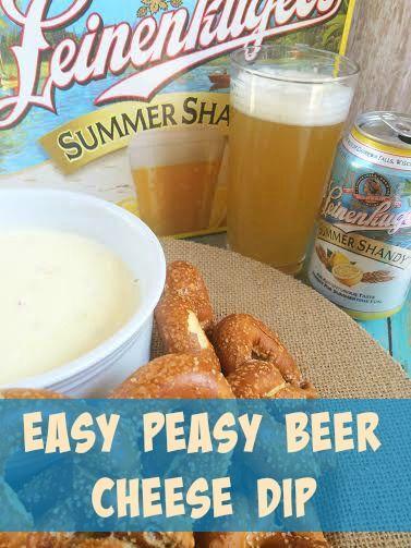 Easy Beer Cheese Dip
