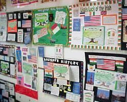 Our Cohort had a seminar about multiculturalism in the classroom, and one of the guest speakers told us about this amazing project she does in her classroom about immigration and heritage. This project allows students to research and present something that is personally relevant to their lives.