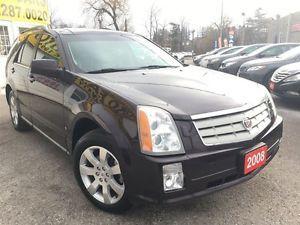2008 Cadillac SRX V6/AWD/NAVI/LEATHER/ROOF/LOADED/ALLOYS