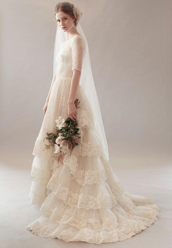 Wedding Dresses For Older Brides New Zealand : Wedding dresses vintage bridal weddings gowns