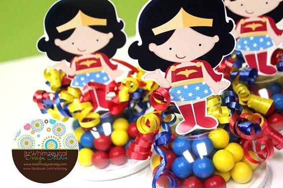 Maravilla chica súper héroe envases de dulces a por itzwhimzeycal