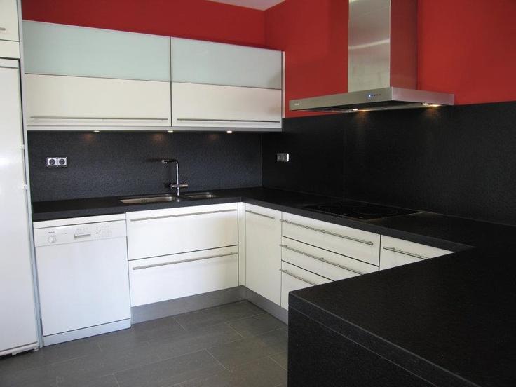 Campana extractora de pared pando p 830 cocinas con - Cocinas con campanas decorativas ...