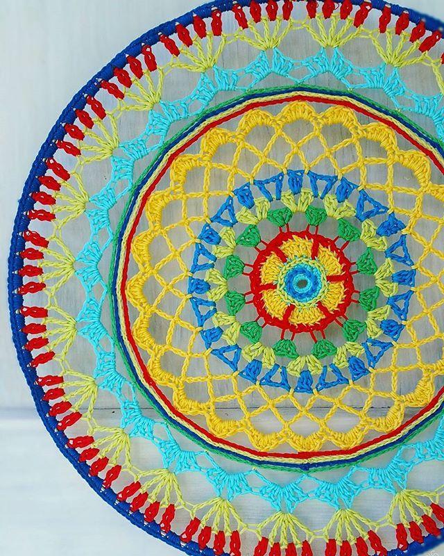 Hoop Mandala Crochet