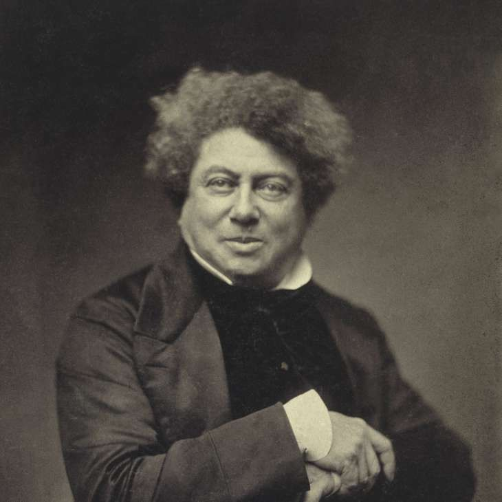 Alexandre Dumas Et Son Grand Dictionnaire De Cuisine Portraits Photo Print Pere