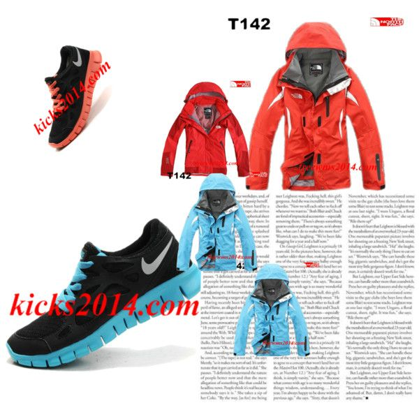 Womens Nike Free Run 2 And North Face Jackets For Wholesale     #Discount Fashion Summer 2014