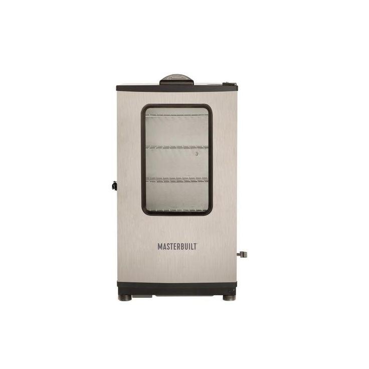 Masterbuilt 1200 Watt Black With Stainless Steel Door Electric