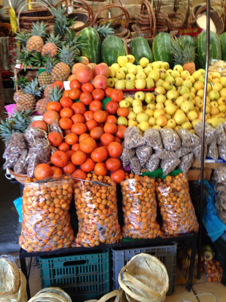 San Juan de Dios market in San Miguel de Allende, Guanajuato, Mexico.