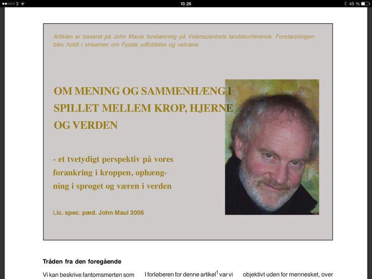 http://www.livsverden.dk/pub/Maul.J.2006.Meningsspil.pdf