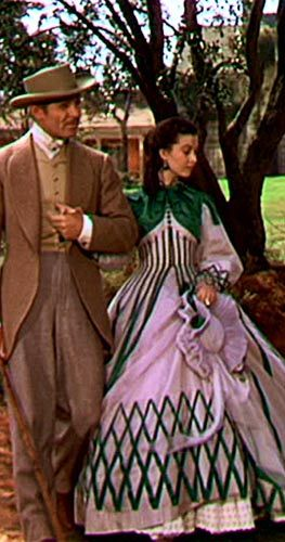 dresses from gone with the wind | GoneMovie Gone with the wind Clark Gable Vivien Leigh Olivia de ...