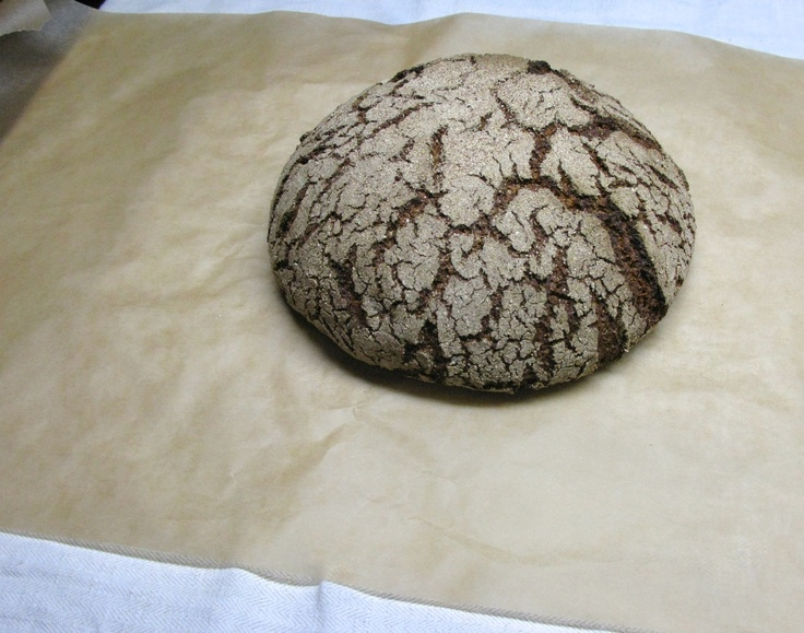 Step 7: Bread right from the oven.