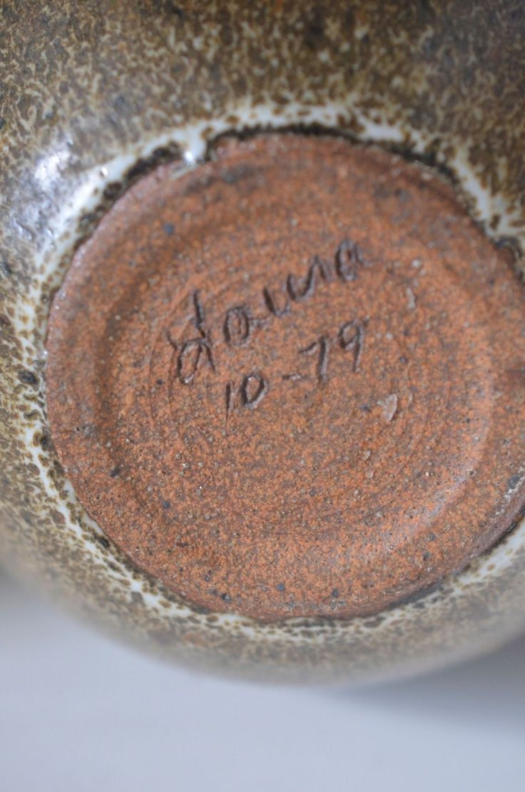 Details About Laura Andreson California Pottery 1979