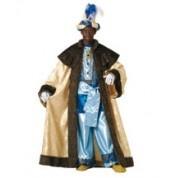 Disfraz de Rey Mago Lujo    El disfraz incluye: Traje con cinto y capa con capelina    Composición: Raso satin, lame y dacha http://www.disfracessimon.com/disfraces-hombre-mujer-adultos/248-disfraz-rey-mago-lujo-p-248.html
